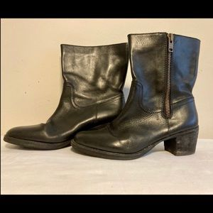 Land's end women's leather boots size 11